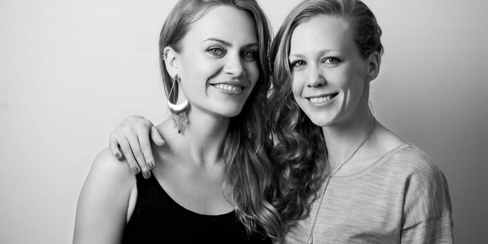 SLOW FASHION: Det nye norske slow fashion merket A/Bareness drives av Karoline Hestnes (til venstre) og Anne-Marthe Fossum (til høyre).