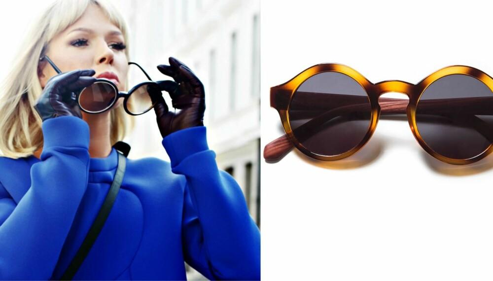 HØSTENS HOTTESTE SOLBRILLER: - Jeg er kjent som hun som går med solbriller når det regner. Jeg bryr meg ikke. En dag uten solbriller er ikke verdt noen ting, sier moteblogger Ulrikke Lund. Her har vi samlet et par av høstens hotteste varianter. Disse til høyre er fra Zara, og koster kr 199.