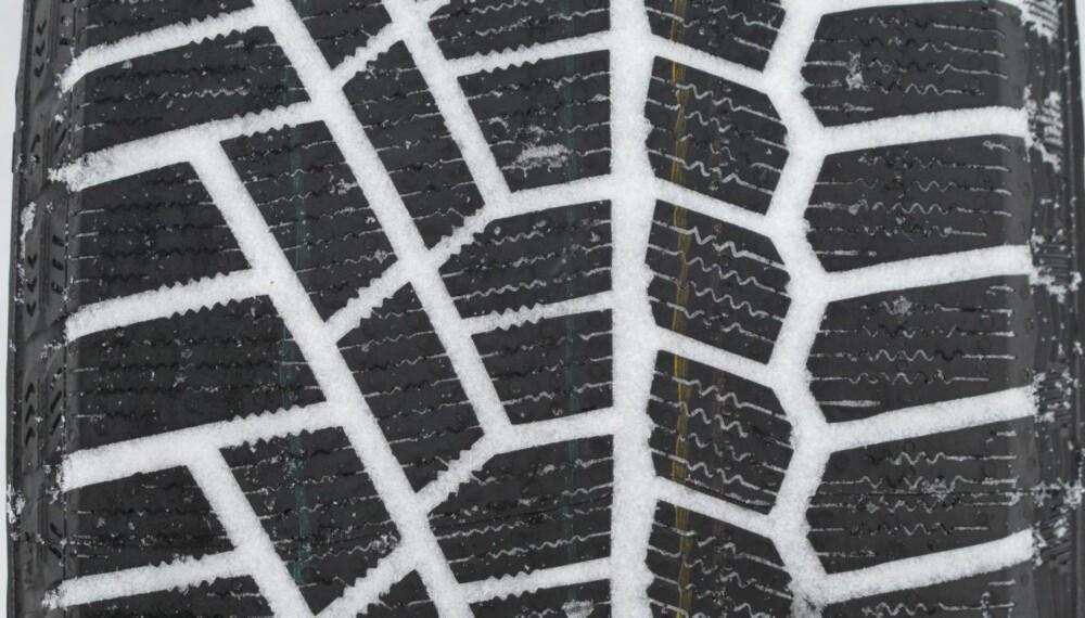 DEKK: Vet du hva som er minste tillatte mønsterdybde på vinterdekk? FOTO: HM Foto
