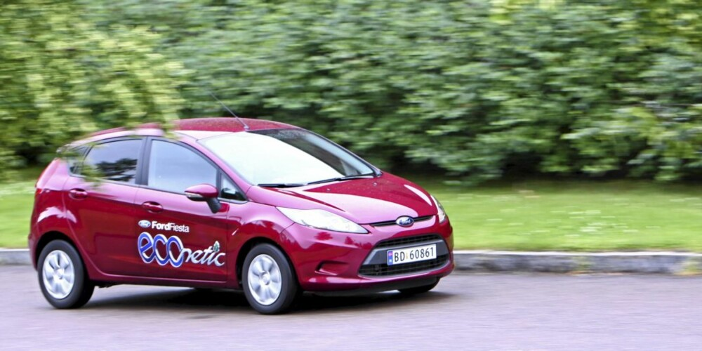 Ford Fiesta 1,6 D Econetic