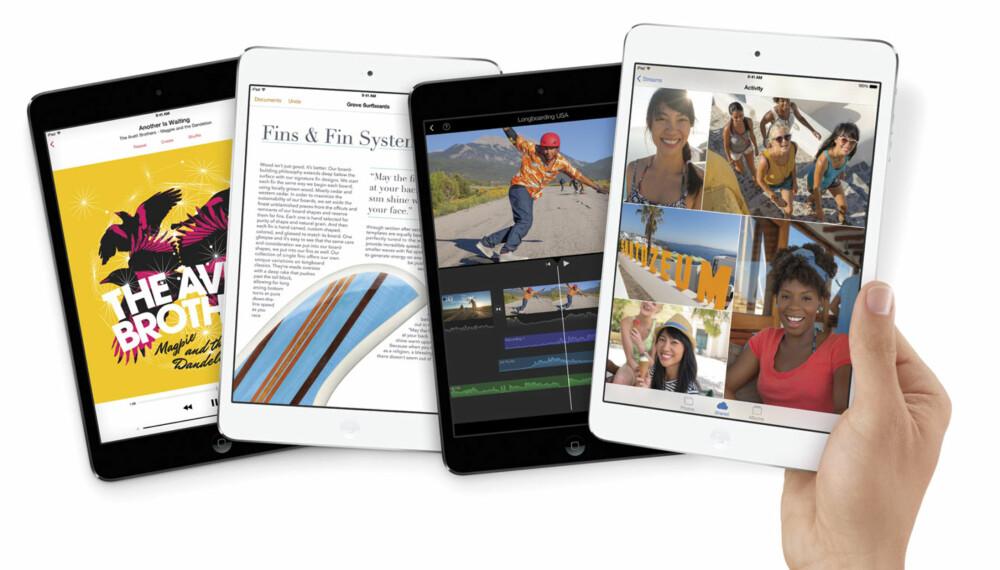 iPAD MINI: Nye iPad mini får en høyoppløst retinaskjerm med samme oppløsning som iPad 4.