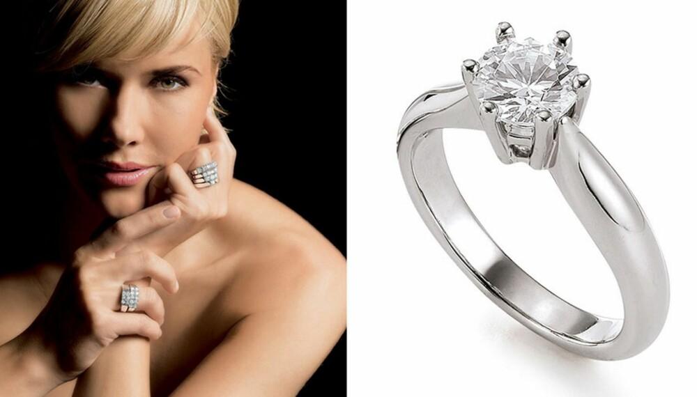 Bli med i leserundersøkelsen til Alt for damene og du kan vinne en flott diamantring til en verdi av 10 370,-