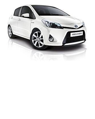 En av premiene er gratis leasing av Toyota Yaris Hybrid i 6 måneder