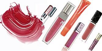 TEST AV LIPGLOSS: Vi har testet 15 lipglosser.