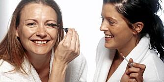 SMINKE: Venninner deler ofte sminke. Det er helsefarlig.