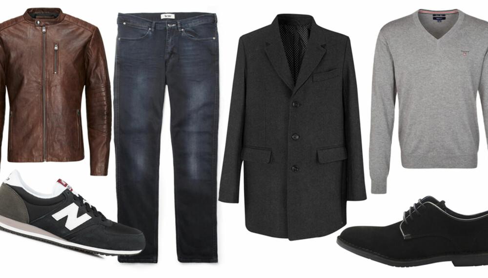 BASISGARDEROBE PÅ JOBB: Fyller du skapet med basisplagg, er det så mye lettere å finne ut hva du bør kle deg i på jobb.