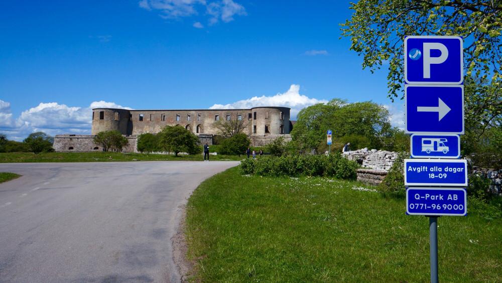 POPULÆRT: Borgholm slott er kanskje Nord-Ölands største turistattraksjon.