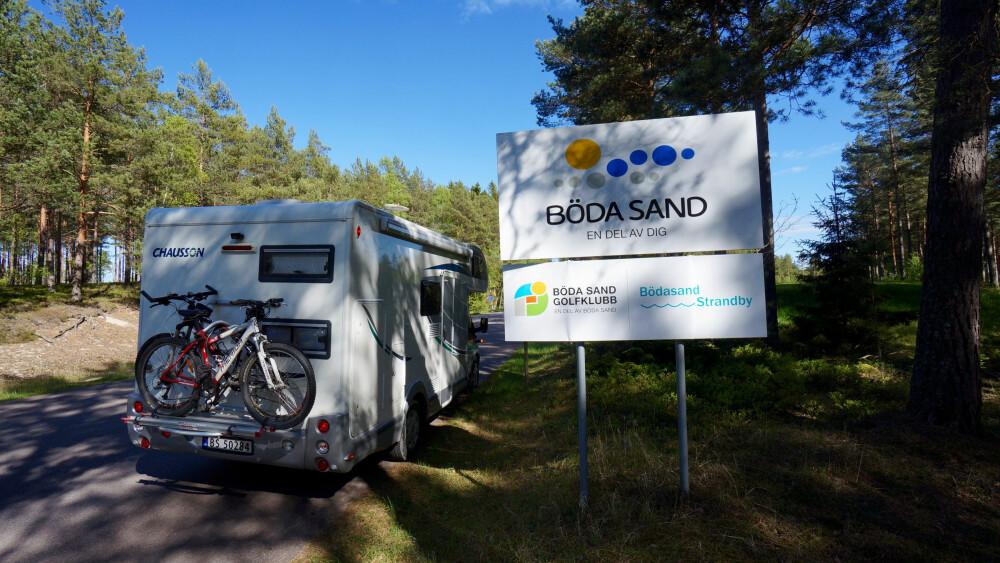 BERØMT: Böda Sand er uten tvil Sveriges mest kjente campingplass.