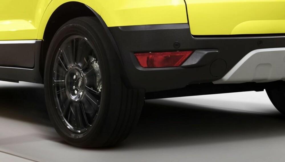 ECOSPORT: Med liten motor og 125 hk vil Ford EcoSport koste i underkant av 240 000 kroner i Norge. FOTO: Produsent