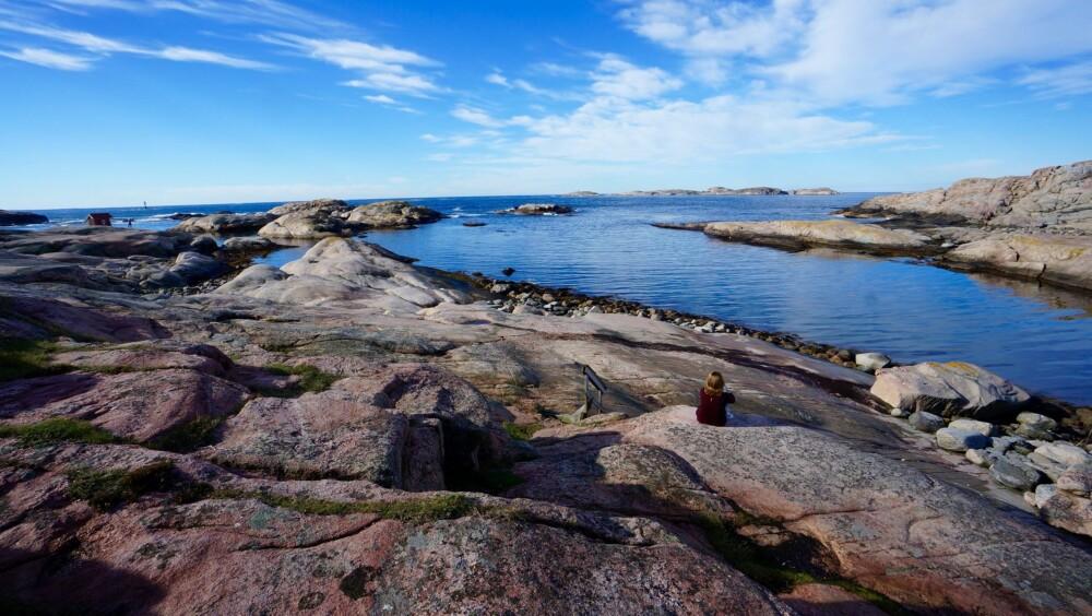ÅPENT LANDSKAP: Kysten av Bohuslän er fantastisk for den som liker åpne landskap.