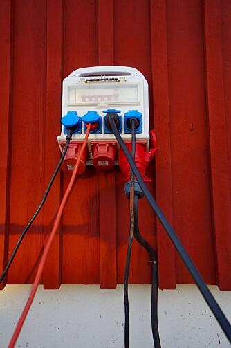 KAMP OM STRØMMEN: Men i år skal Lysekil ha et bedre el-tilbud til bobiler.