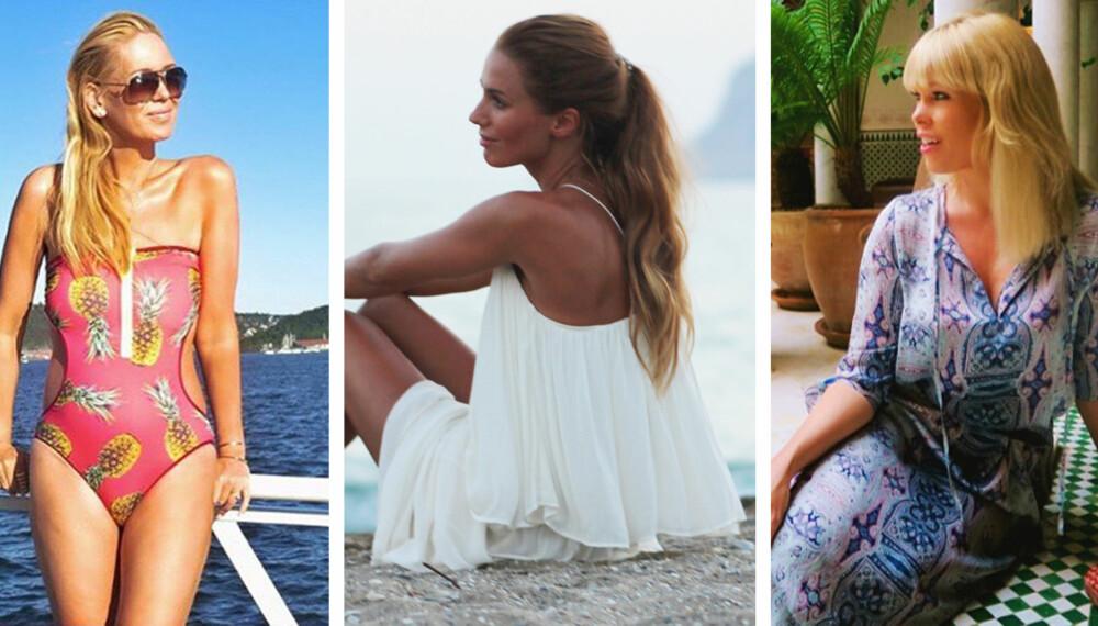 GIR DEG PAKKETIPSENE: Stylist, designeren bak ByMagMaLou og eier av butikken MagMaLou Marthe Kveli Valeberg, stylist og moteekspert Marianne Jemtegård og moteblogger Benedichte Bjerke.