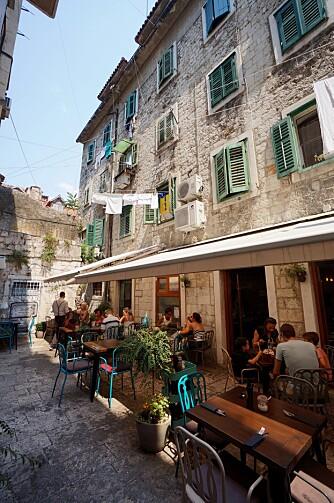 SPLIT: Gamlebyen i Split er vel verdt et besøk.