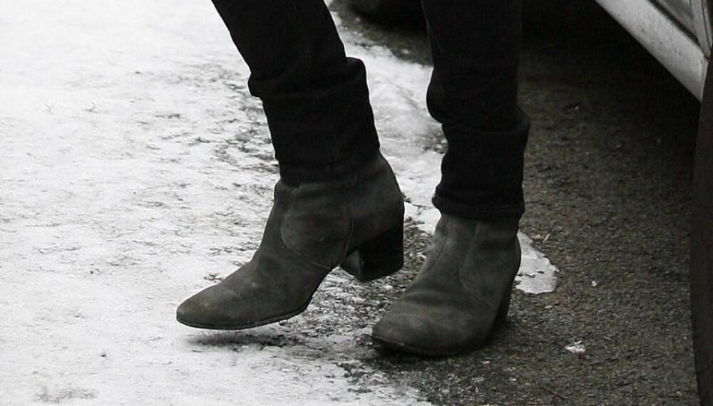 PASS PÅ: Beskytter du ikke skoene dine riktig i vinter, ryker de fortere enn du aner det.