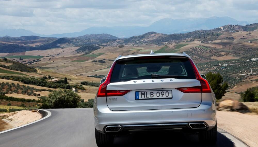 ARVTAKER: Volvo V90 tar over som Volvos nye stasjonsvogn-flaggskip etter svært populære V70.