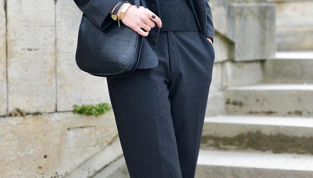 DROPP DENNE: Ønsker du en mer formfull fasong, er det lurt å unngå den maskuline trenden, med oversizede dressbukser og brede blazere.