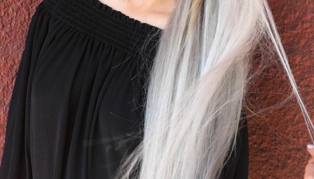 LANGT OG GLANSFULLT HÅR: Greit, det tar litt tid, men selv du kan få langt og fint hår! FOTO: Jenny Mina Rødahl