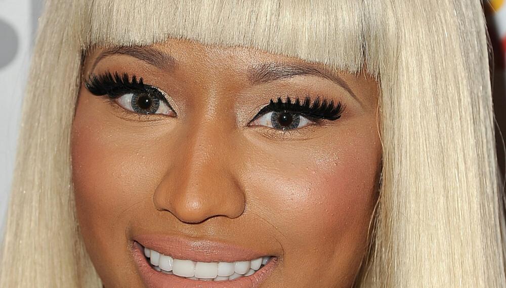TOO MUCH: På festival er det fint med highlighter og blush, men på en naturlig måte. Less is more, Nicki Minaj! ILLUSTRASJONSFOTO: Getty Images