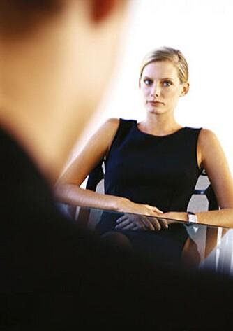 JOBBINTERVJU: Når du er innkalt til et intervju, anser arbeidsgiver deg som foreløpig kvalifisert til stillingen. Det lønner seg derfor å stille godt forberedt.