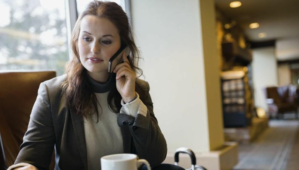 RINGE ELLER IKKE RINGE: Hvis det er oppgitt en kontaktperson i stillingsannonsen, forventer arbeidsgiver å få telefoner om den ledige jobben.