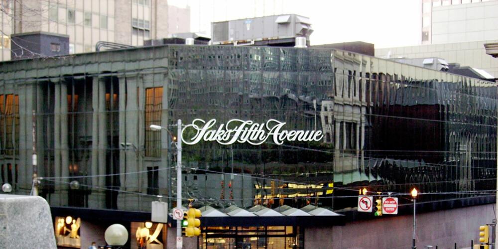 SAKS: Ta turen innom Saks på Fifth Avenue og drøm deg bort i eksklusiv designermote.