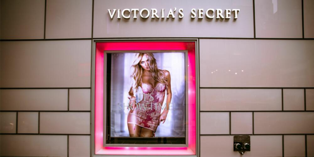 VICTORIA'S SECRET: Kjøpe med deg lekkert og lekent undertøy fra superkjente Victoria's Secret.