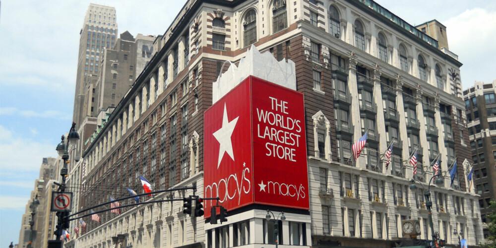 VERDENS STØRSTE: Varemagasinet Macy's på 34th Street er det største varemagasinet i verden.
