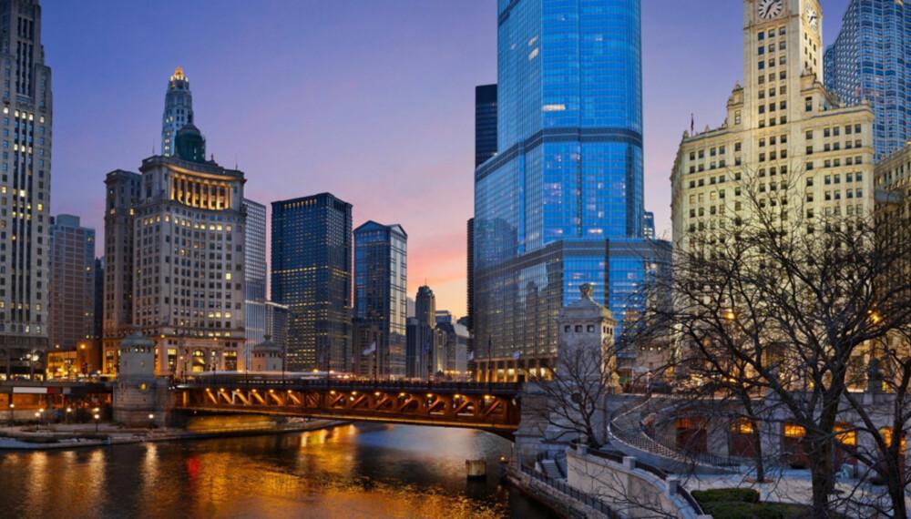 SJARMERENDE CHICAGO: Jo da, vi elsker New York. Men du kommer garantert til å falle for denne byen også.