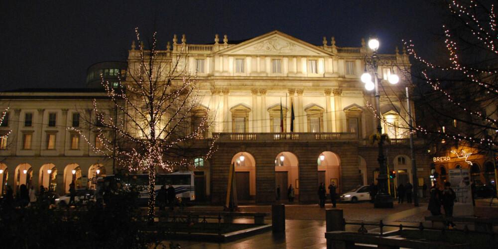 OPERA: La Scala er et av verdens mest kjente og kanskje vakreste opera-hus.