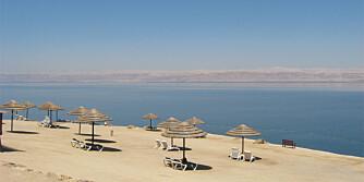 VIPS, SÅ ER DET VEKK: Dødehavet synker med 1 meter i året. Reis hit før det er for sent.