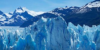 PATAGONIA: Disse isbreene i Sør-Amerika mister opptil 20 milliarder tonn is hvert år.