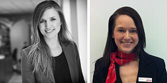 KILDER: Marianne Haaland Bogdanoff, selgerleder ved Ticket Feriereiser AS, Julie Pedersen og pressesjef for Momondo AS. FOTO: Privat