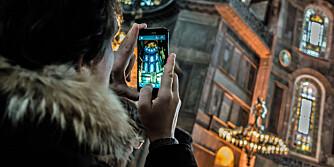 FOTOETIKETTE: Forsikre deg om at det er greit at du fotograferer før du tar bilde av religiøse helligdommer.