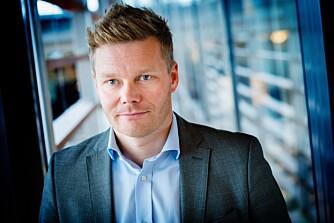 Tormod Sandstø, informasjonssjef SAS