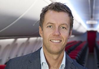 Lasse Sandaker-Nielsen, informasjonssjef i Norwegian.