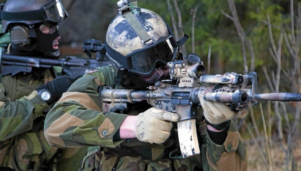 Norske spesialsoldater, her i trening før avreise til Afghanistan, nyter stor respekt internasjonalt.
