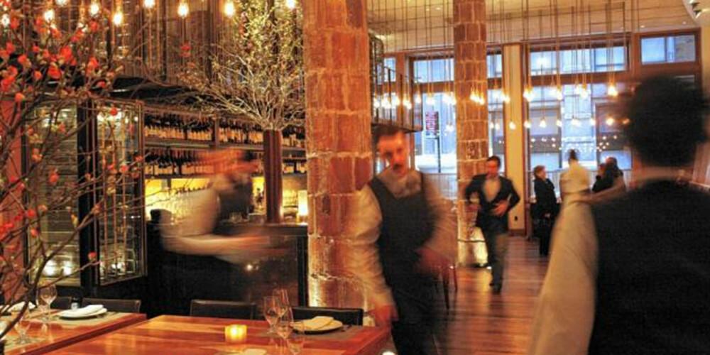KULINARISK: Det du ikke finner av mat og restauranter i New York, det finner du antakeligvis ikke noen steder.