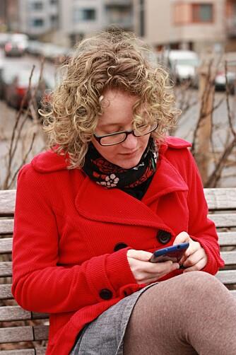 LOGGA PÅ: Benedicte har vært aktiv på nett siden hun var 13 år.