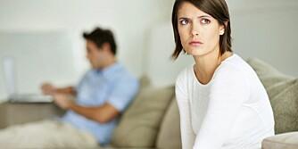 UBALANSE: Om den ene parten er pornoavhengig bør man være åpen om dette og gjerne søke hjelp fra terapeut.