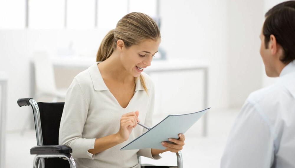 SKILL DEG UT: En god CV gjør veien til et intervju mye kortere.