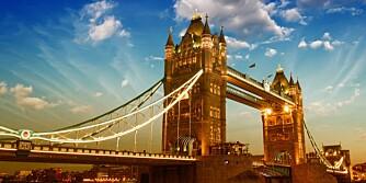 LONDON BRIDGE: Lander du i London er Heathrow Express den raskeste og beste måten å reise mellom Heathrow Airport og London Paddington.