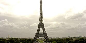 EIFFELTÅRNET I PARIS: Taxi fra Orly eller Charles de Gaulle behøver ikke koste skjorta, særlig ikke når man reiser flere sammen.