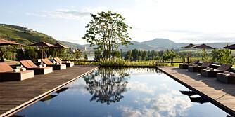 PORTUGAL: Aquapura Douro Valley Hotel er perfekt for par som elsker vin - og hverandre.