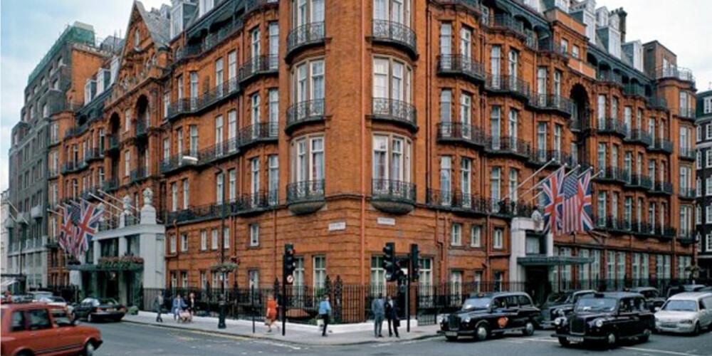LONDON: Hvem sier vel nei til en helg på Claridge's?