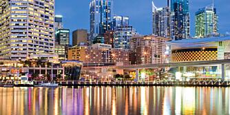 STORBY: 5 millioner mennesker kaller Sydney hjem.