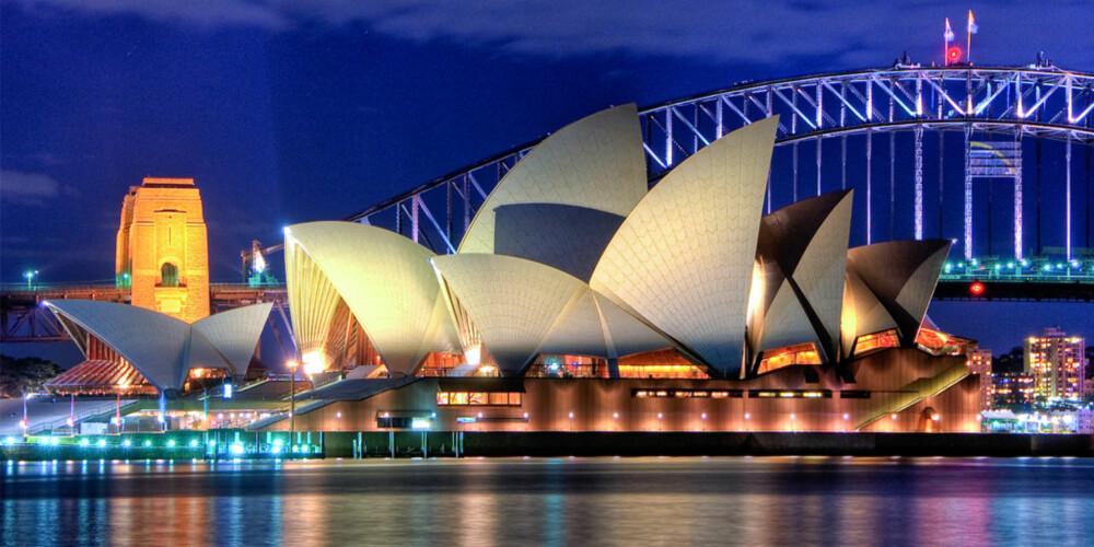 IKONISK: Det velkente operahuset som pryder Sydneys havn er imponerende, og har havnet på UNESCOs Verdensarvliste.