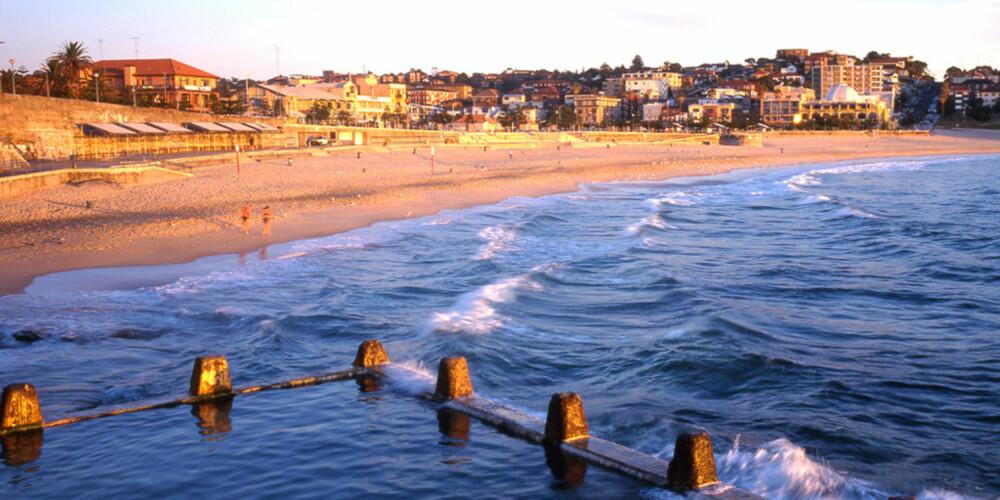 COOGEE BEACH: Vakre Coogee Beach er en av de absolutt flotteste bystrendene i Sydney.