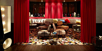TRENDY: På Hotellet QT er interiøret veldig trendy og moderne. I tillegg bor du midt i smørøyet om du sjekker inn her.