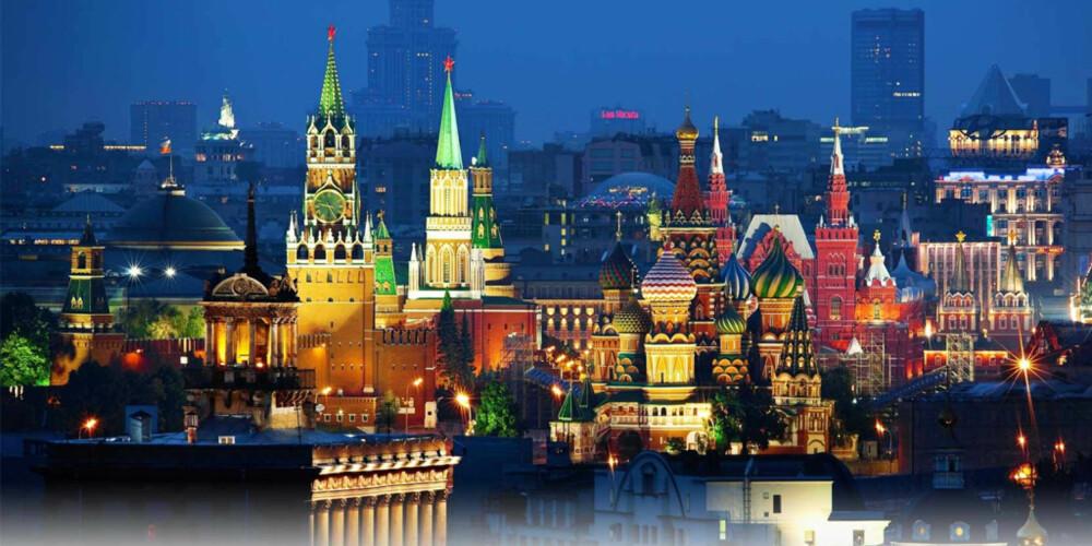 MOSKVA: Du kommer ikke til å reise skuffet hjem etter et besøk til denne storbyen.