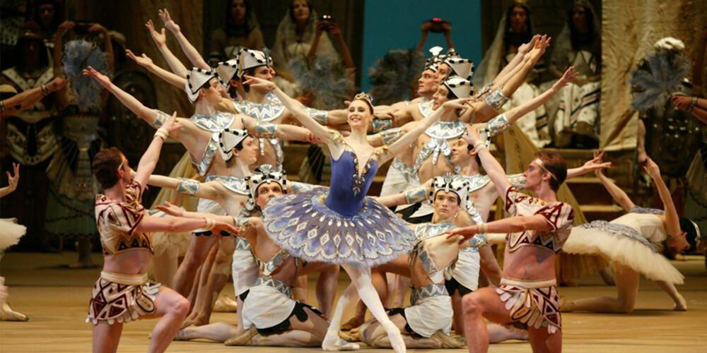DANS: Du kan nesten ikke besøke Moskva uten å få med deg en forestilling med den verdenskjente Bolshoi-balletten.